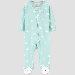 Baby Bunny 1pc Pajama - Just One You® made by carter's BLUE TULIP