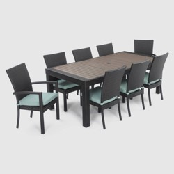 Deco 9pc Dining Set with Cushions - RST Brands