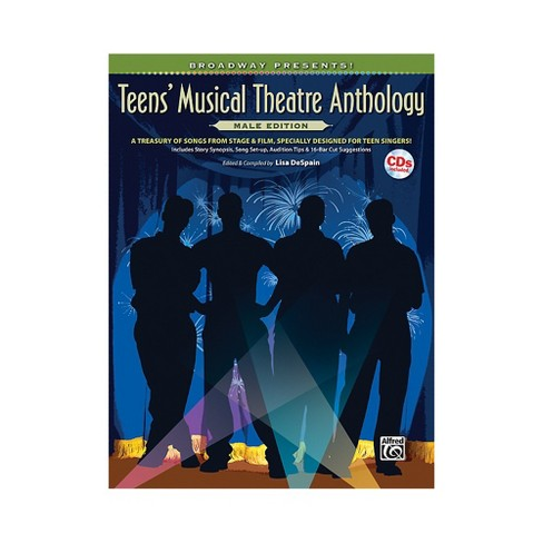 Alfred Broadway Presents! Teens' Musical Theatre Anthology Male Edition Book & Online Audio - image 1 of 1