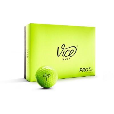 Vice Plus Golf Balls - Lime