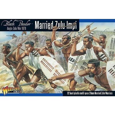 Married Zulu Impi Miniatures Box Set