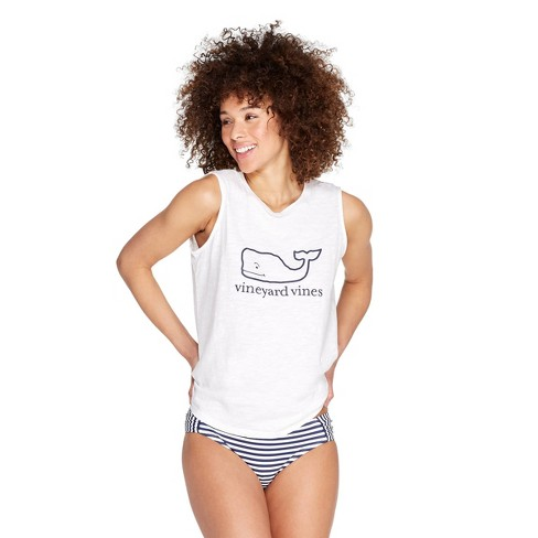 b029f2bdfcfe92 Women s Whale Graphic Crewneck Tank - White - Vineyard Vines® For Target    Target