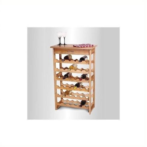Wood 36 Bottle Wine Rack Brown-Pemberly Row - image 1 of 1