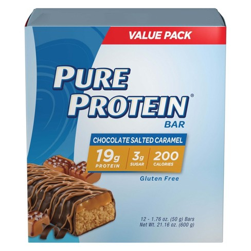 Pure Protein Bar - Chocolate Salted Caramel - 12ct - image 1 of 4