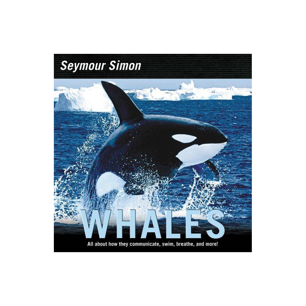 Whales By Seymour Simon Paperback