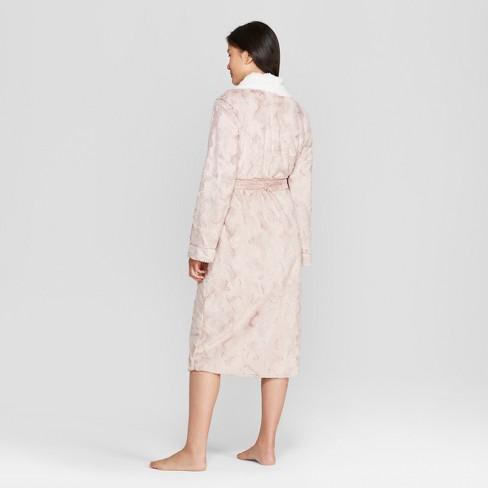 36514923b0 Women s Cozy Faux Fur Robe - Gilligan   O Malley™   Target