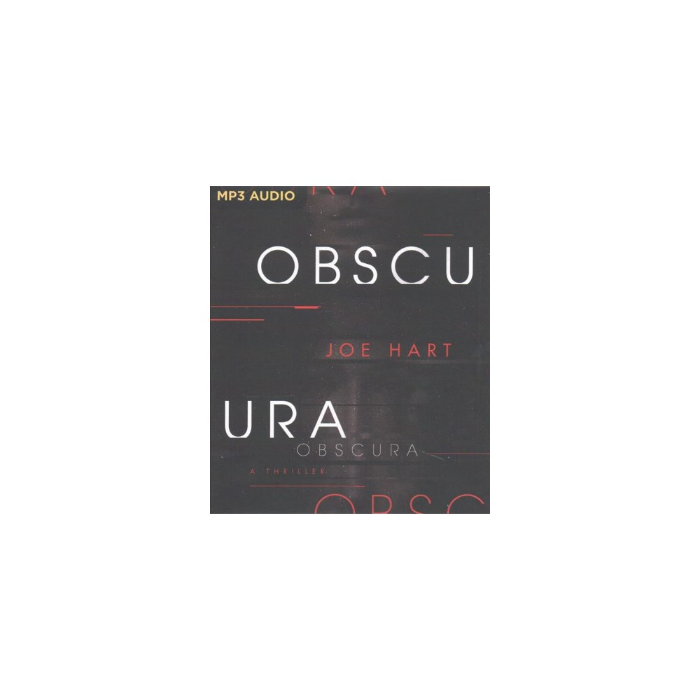 Obscura - MP3 Una by Joe Hart (MP3-CD)