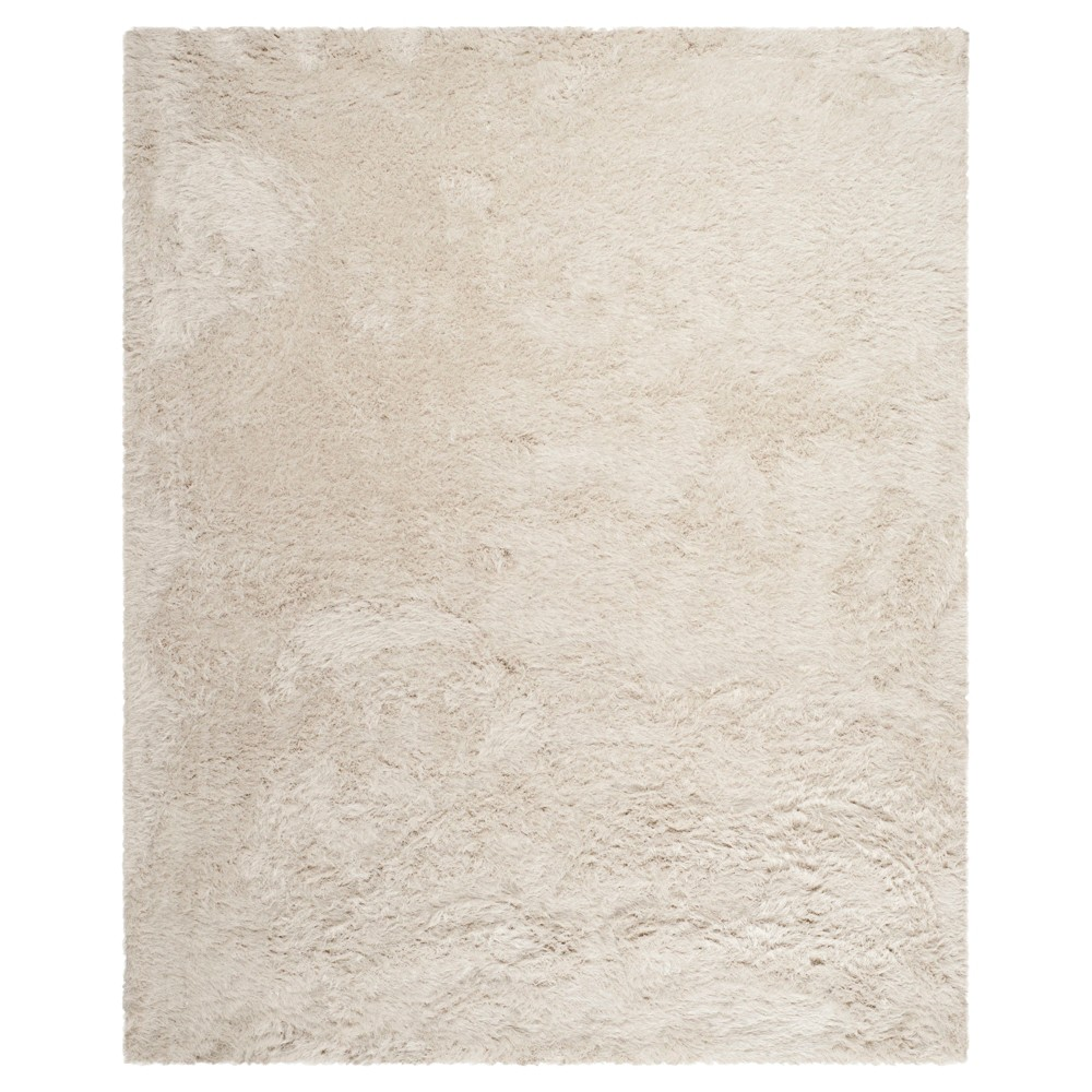 Pearl (White) Solid Tufted Area Rug - (8'x10') - Safavieh