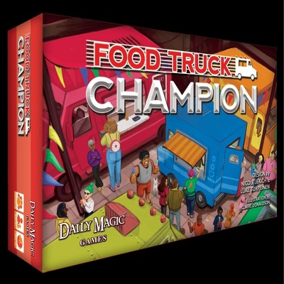 Food Truck Champion (Kickstarter Edition) Board Game