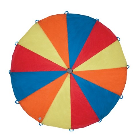 Pacific Play Tents Kids Playchute Parachute Multicolored 10 Ft - image 1 of 4