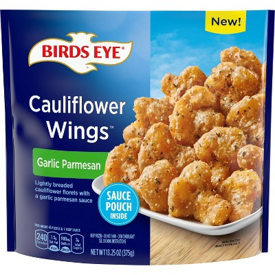 Birds Eye Frozen Cauliflower Wings Garlic Parmesan - 13.25oz