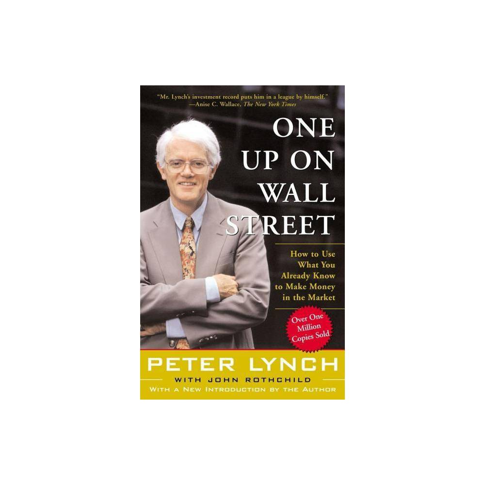 One Up On Wall Street By Peter Lynch Paperback
