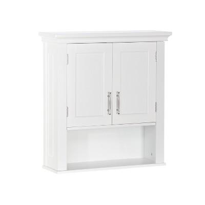 Somerset Collection 2-Door Wall Cabinet White - RiverRidge