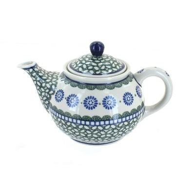 Blue Rose Polish Pottery Maia Small Teapot
