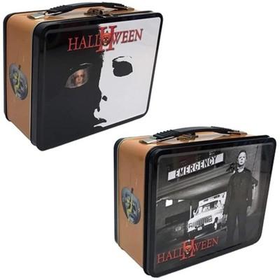Factory Entertainment Halloween 2 8.5 x 6.5 x 4 Inch Retro Style Tin Tote