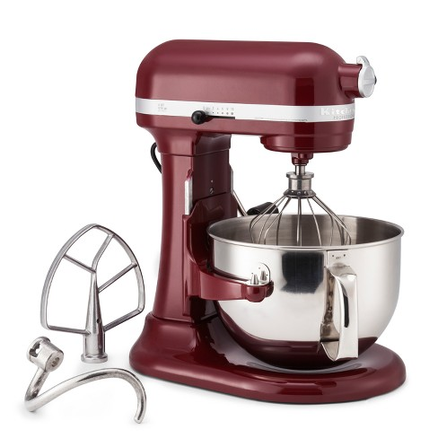 KitchenAid Refurbished Professional 600 Series 6qt Bowl-Lift Stand on 6 qt crockpot, 6 qt kettle, kitchenaid pro 500 mixer, 6 qt ice cream maker, kitchenaid professional mixer,