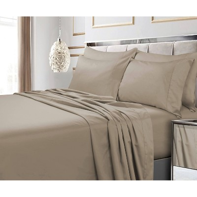 600 Thread Count 6pc Extra Deep Pocket Sateen Sheet Set - Tribeca Living