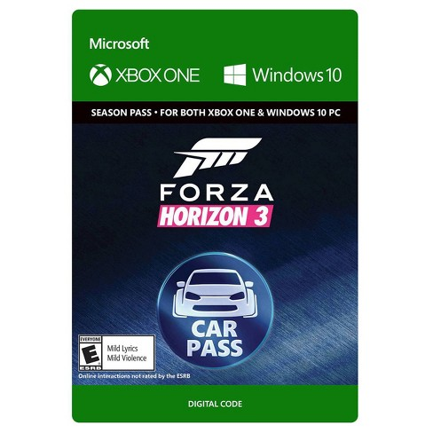 Forza Horizon 3: Car Pass - Xbox One (Digital) - image 1 of 1
