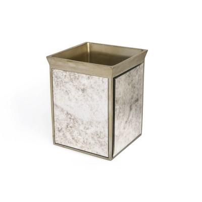 Vintage Waste Basket Bronze - Cassadecor