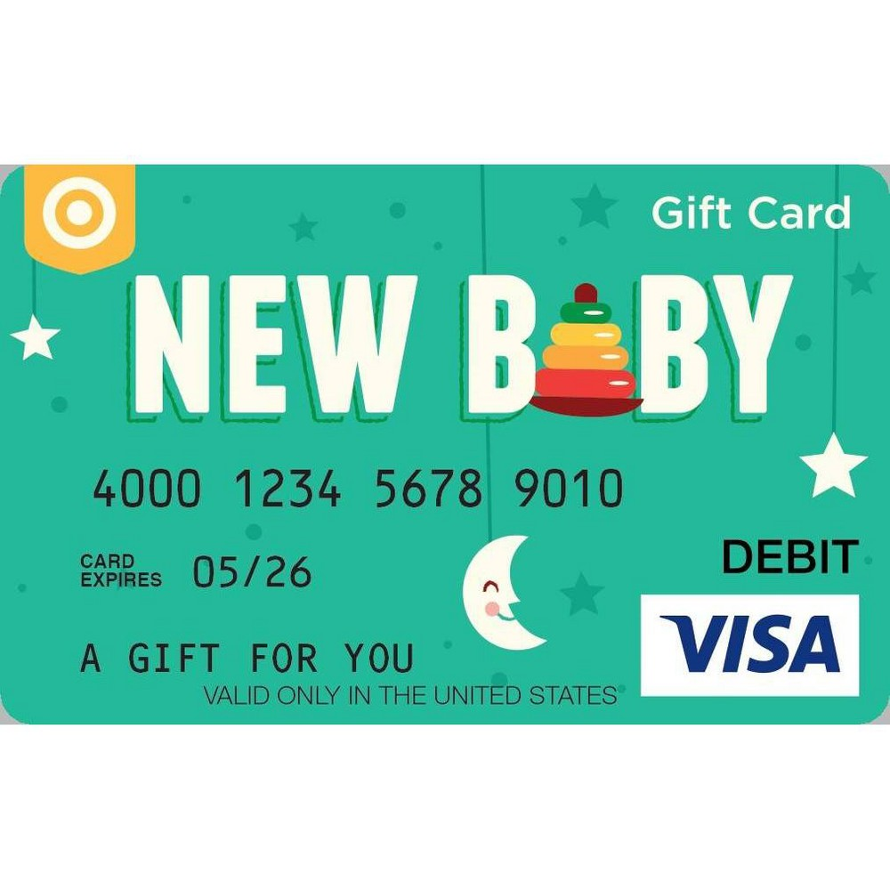 Visa Baby Egift Card 50 5 Purchase Fee Email Delivery