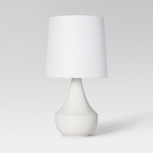 Montreal Wren Assembled Table Lamp White - Project 62™ - image 1 of 2