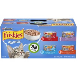 Purina Friskies Shreds Variety Pack Wet Cat Food Cans -  5.5oz