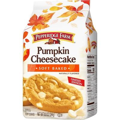 Pepperidge Farm® Soft Baked Pumpkin Cheesecake Cookies, 8.6 oz. Bag