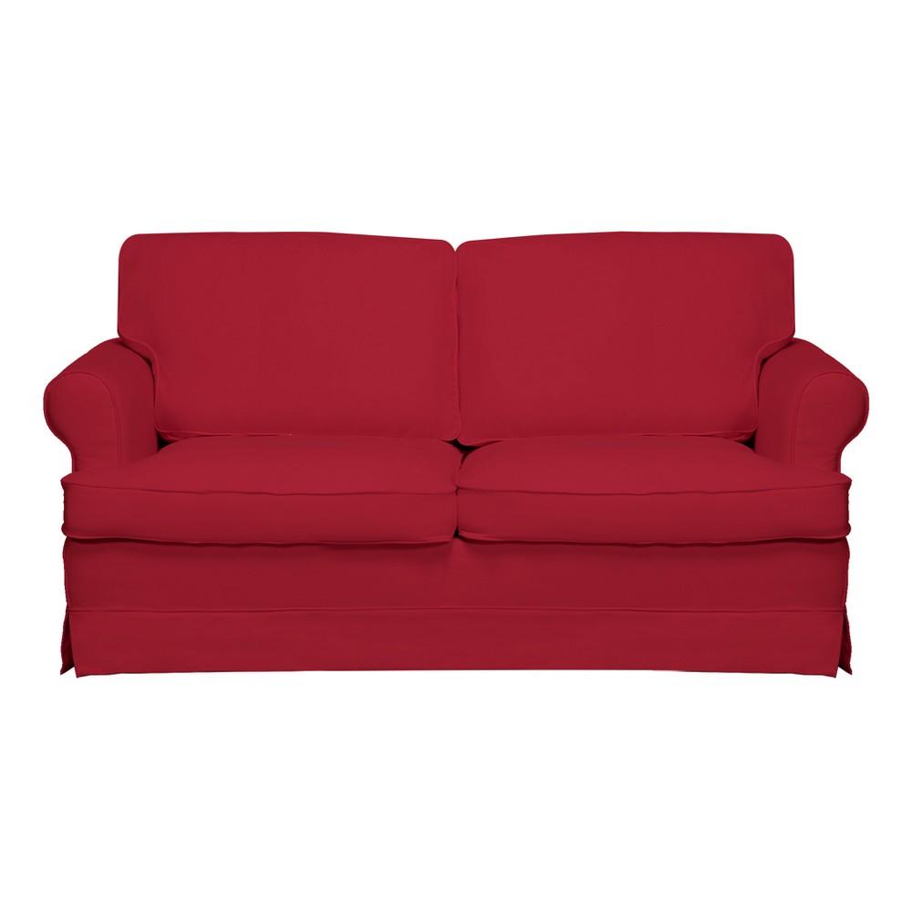 Spencer Sofa Red - Sofas 2 Go