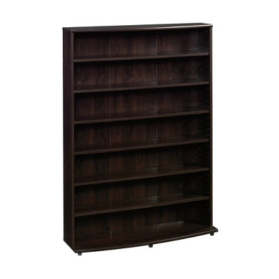 Multimedia Storage Tower Cinnamon Cherry - Sauder