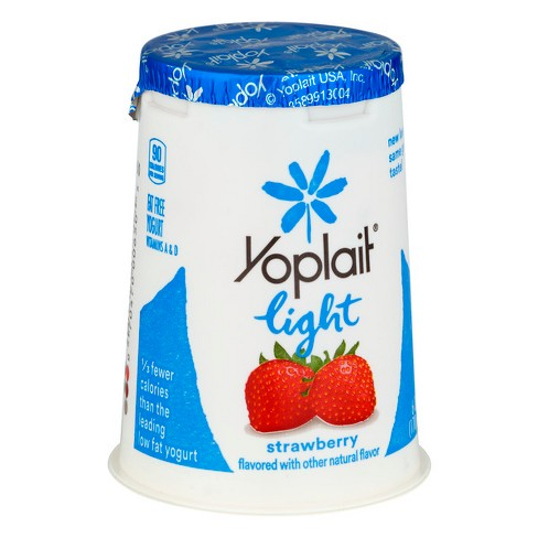 Yoplait Light Strawberry Yogurt - 6oz - image 1 of 3