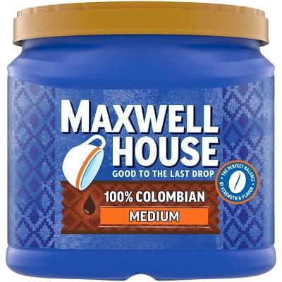 Maxwell House Colombian Medium Dark Roast Ground Coffee - 24.5oz