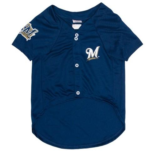 d42a4a02b MLB Pets First Pet Baseball Jersey - Milwaukee Brewers   Target