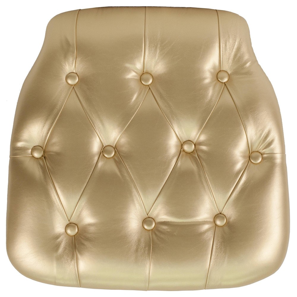 Image of Riverstone Furniture Collection Vinyl Cushion Gold