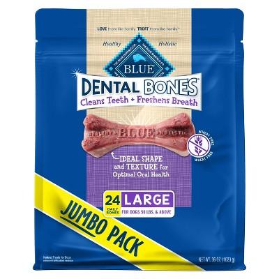 Blue Buffalo Dental Bones Dog Treats