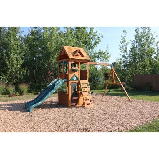 KidKraft Westbury Wooden Swing Set/Playset image number null