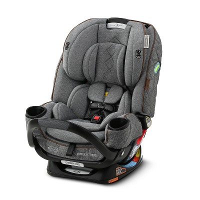 Graco Premier 4Ever DLX Extend2Fit 4-in-1 Convertible Car Seat with Anti-Rebound Bar - Savoy Collection