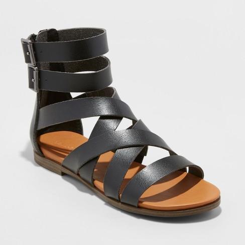 dfcd0c6ac2b Women s Rosalee Microsuede Gladiator Sandals - Universal Thread™   Target
