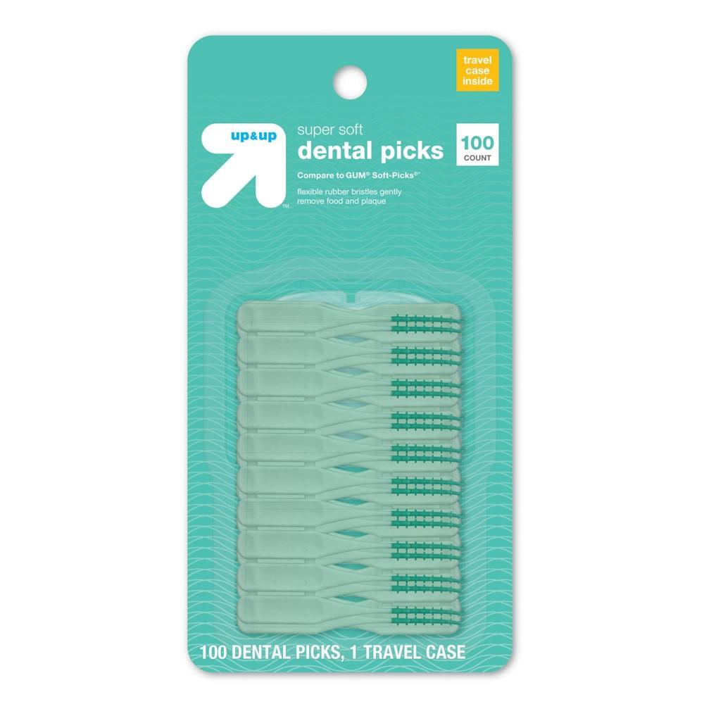 Image of Super Soft Dental Picks - 100ct - Up&Up