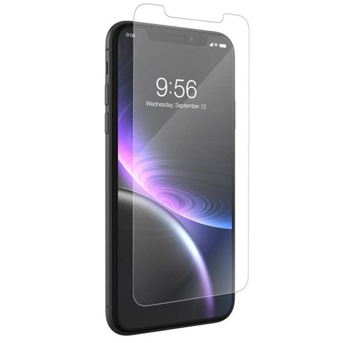 new product c8205 47b9a ZAGG Apple iPhone XR InvisibleShield Glass+ VisionGuard Screen Protector