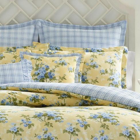 Yellow Cassidy Comforter Set Laura Ashley Target