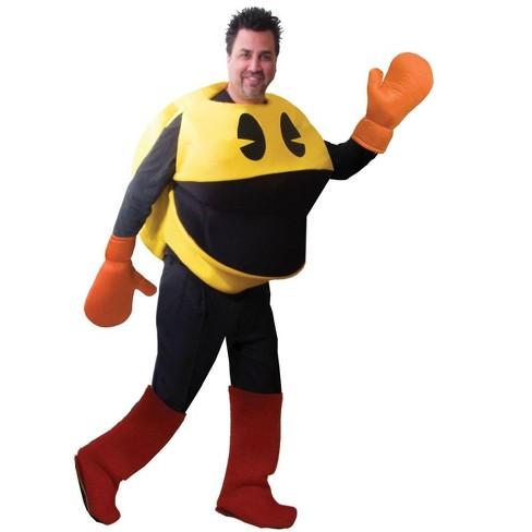 Seasonal Visions Pac-Man Deluxe Costume In Bag Adult Standard - image 1 of 2