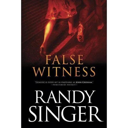 False Witness - by  Randy Singer (Paperback) - image 1 of 1