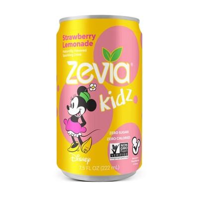 Zevia Kidz Strawberry Lemonade Zero Calorie Soda - 6pk/7.5 fl oz Cans