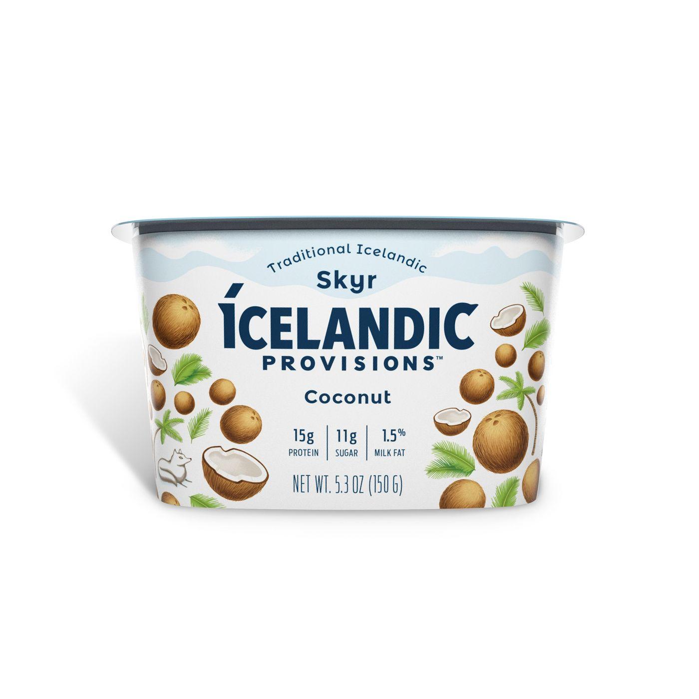 Icelandic Provisions Coconut Skyr Yogurt - 5.3oz - image 1 of 4