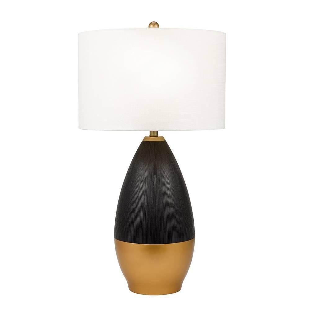 Tasha Table Lamp Black (Includes Energy Efficient Light Bulb) - Cresswell Lighting