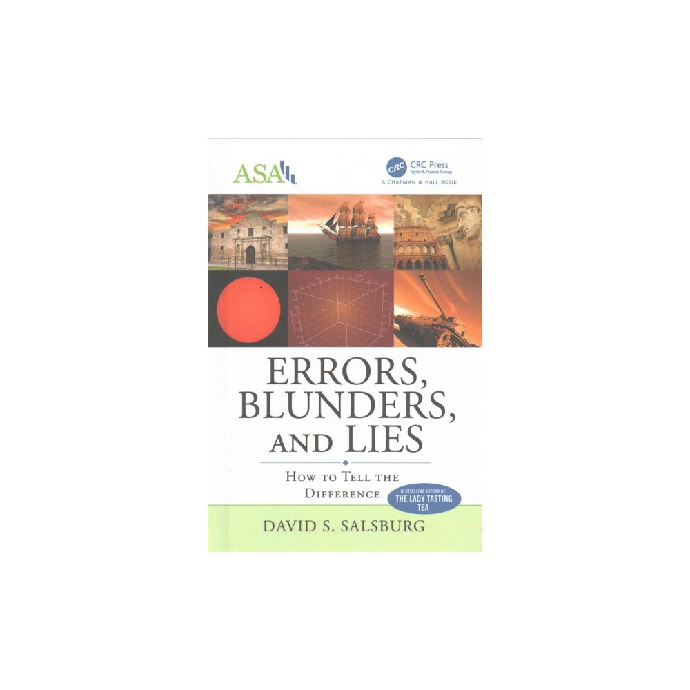 Errors, Blunders, and Lies : How to Tell the Difference (Hardcover) (David S. Salsburg)