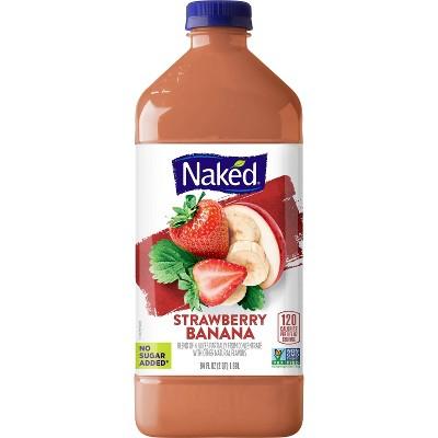 Naked Juice Smoothie Strawberry Banana 64oz