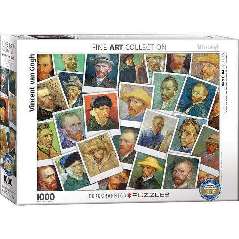 Eurographics Inc. Van Gogh Selfies 1000 Piece Jigsaw Puzzle - image 1 of 4