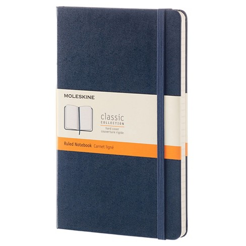 """Moleskine Composition Notebook, Hard Cover, College Ruled, 240 sheets, 5"""" x 8"""" - Blue - image 1 of 4"""