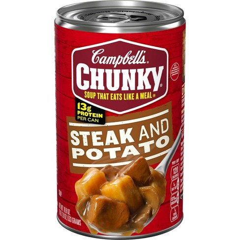 Campbell's Chunky Steak and Potato Soup 18.8oz - image 1 of 4